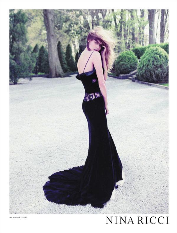 Nina Ricci Fall 2011 Campaign Preview | Malgosia Bela by Inez & Vinoodh