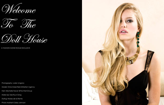 Olivia Greenfield by Julian Ungano for Fashion Gone Rogue