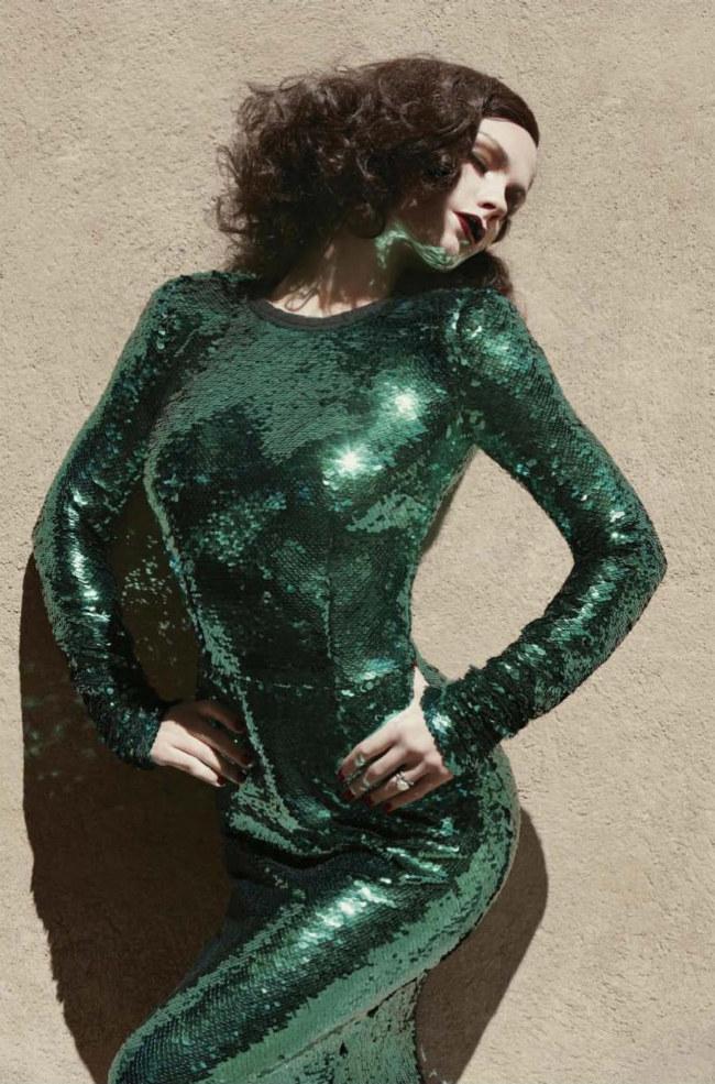 Anna Paquin by Sebastian Faena for V Magazine #72