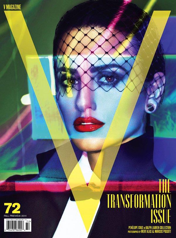 V #72 Cover | Penélope Cruz by Mert & Marcus