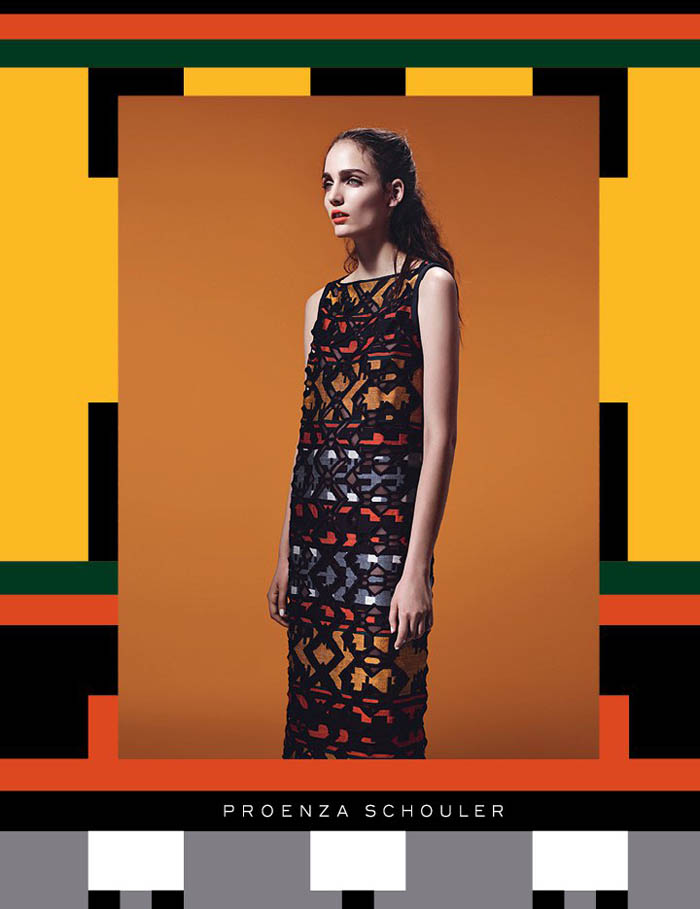 Proenza Schouler Fall 2011 Campaign |  Zuzanna Bijoch by Willy Vanderperre