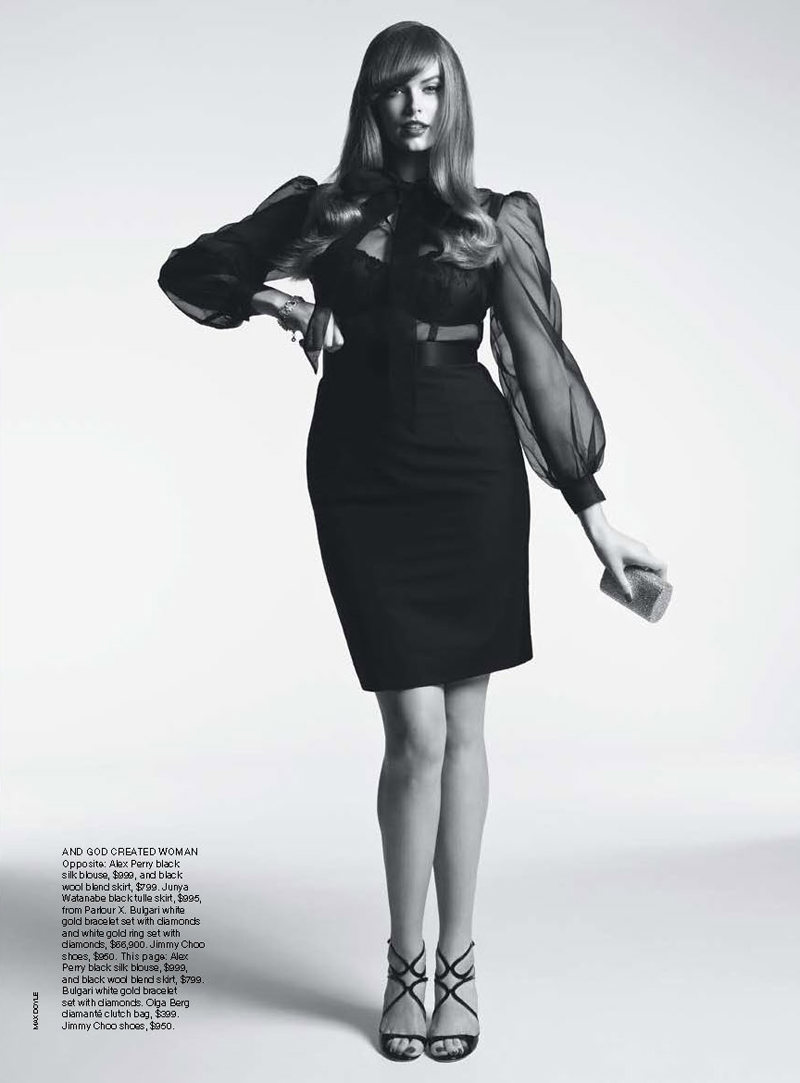 Robyn Lawley by Max Doyle for Vogue Australia September 2011