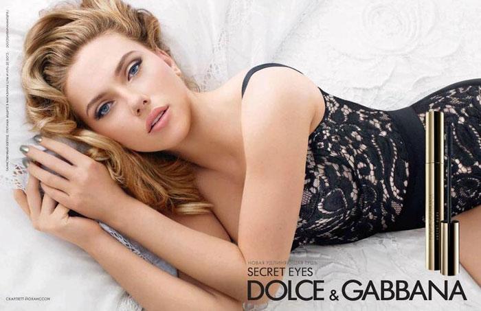Scarlett Johansson for Dolce & Gabbana Beauty Campaign by Sølve Sundsbø