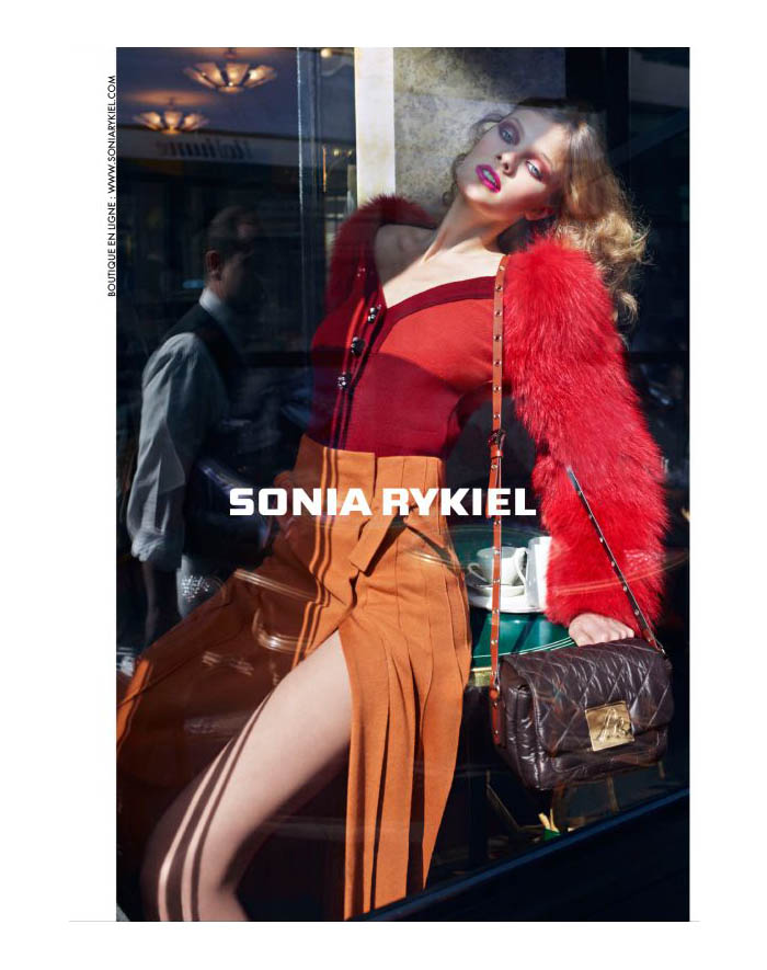 Sonia Rykiel Fall 2011 Campaign | Constance Jablonski by Cédric Buchet