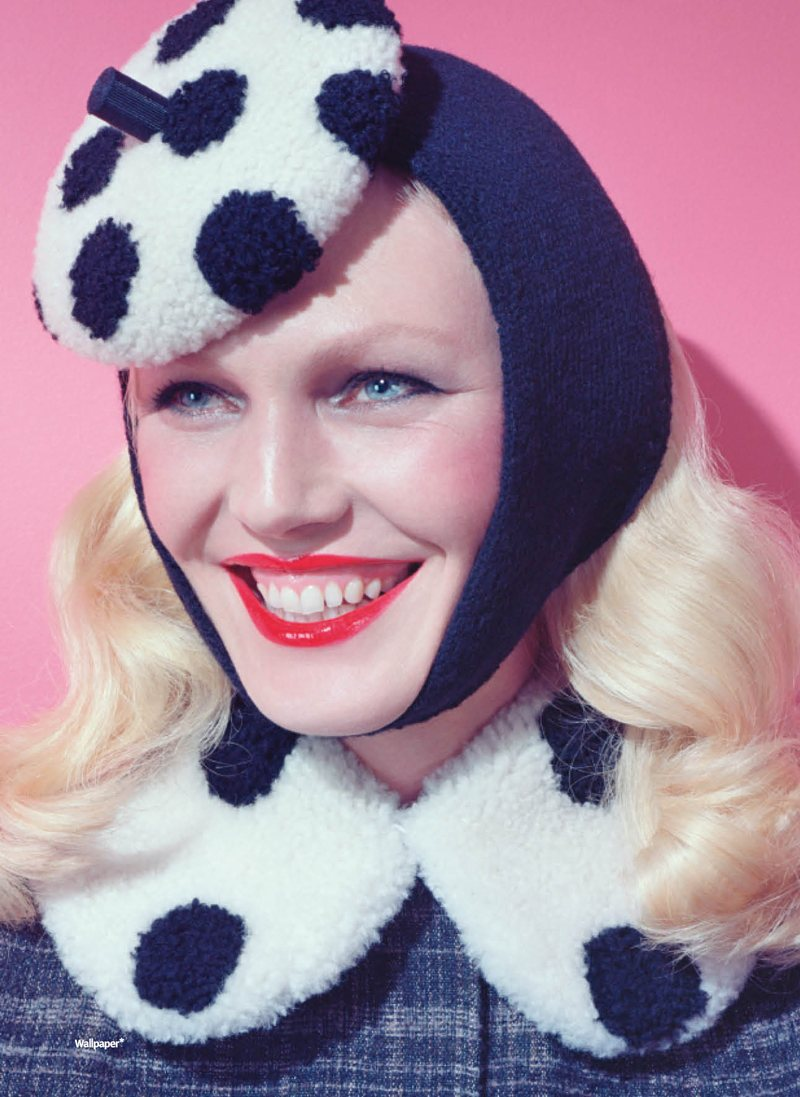 Shirley Mallmann by Miles Aldridge for Wallpaper September 2011