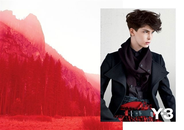 Y-3 Fall 2011 Campaign | Kristina Salinovic by Collier Schorr