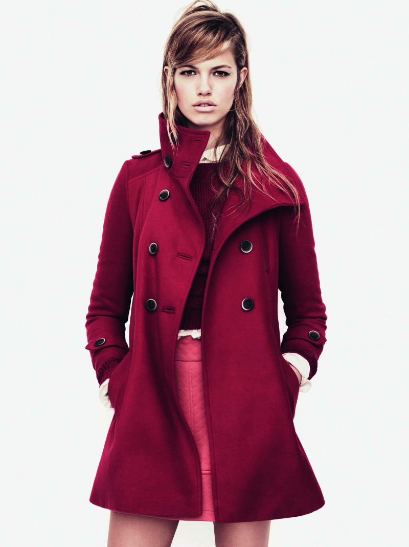 Hailey Clauson for Zara TRF Fall 2011 Campaign