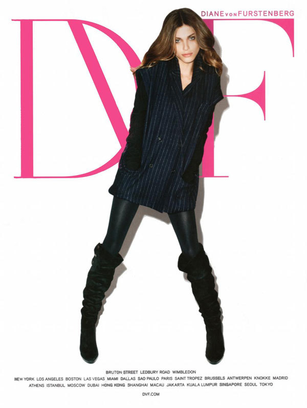 Diane von Furstenberg Fall 2010 Campaign Preview | Elisa Sednaoui by Terry Richardson