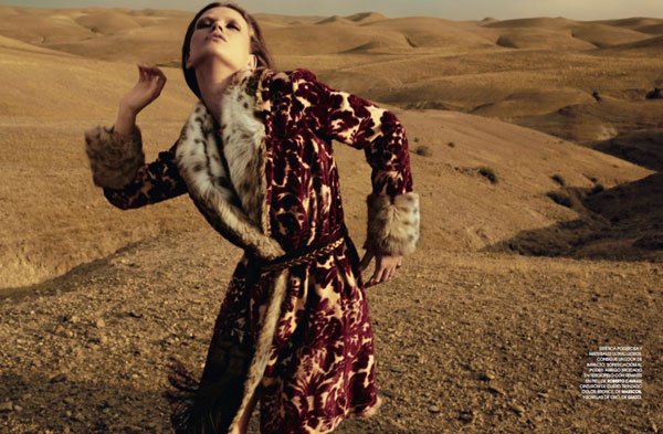 Lyoka Tyagnereva by David Roemer for Marie Claire Spain September 2010