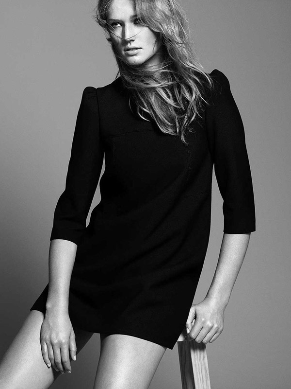 Zara Fall 2010 Campaign | Toni Garrn by David Sims