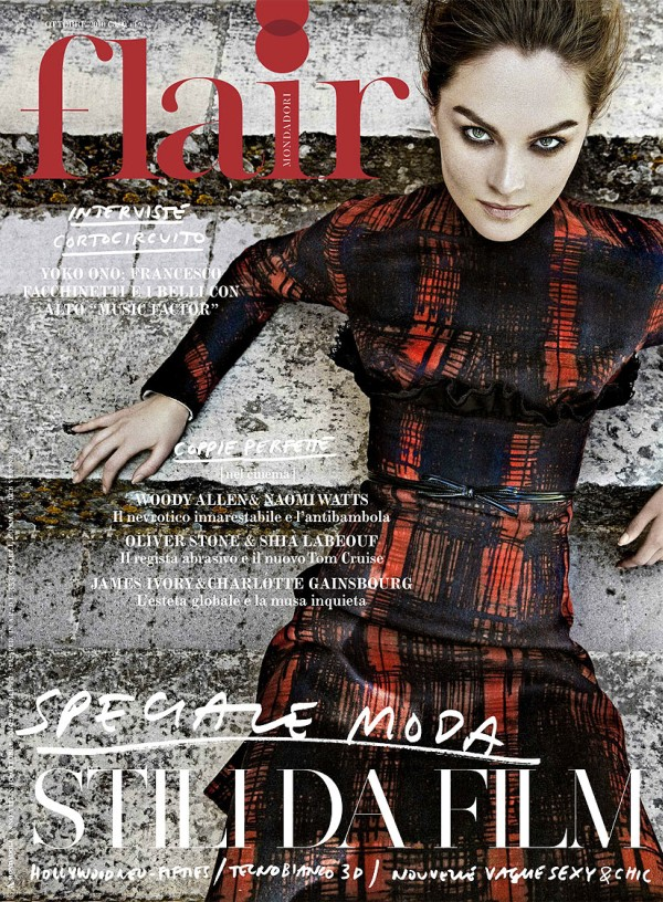 Flair October 2010 Cover | Anouck Lepere by Jean-François Campos