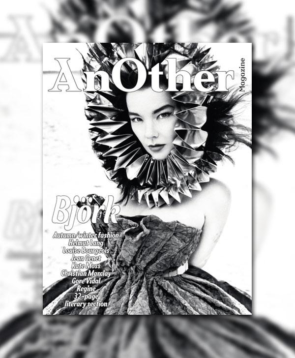AnOther F/W 2010 Cover   Bjork by Inez van Lamsweerde & Vinoodh Matadin