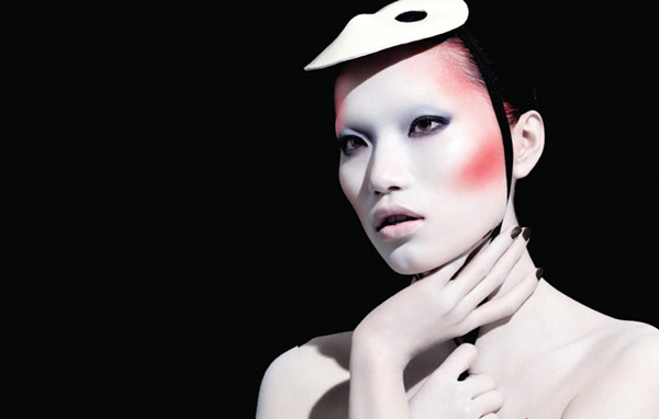 Danni Li for ROUGE Magazine #3 by Henrique Gendre