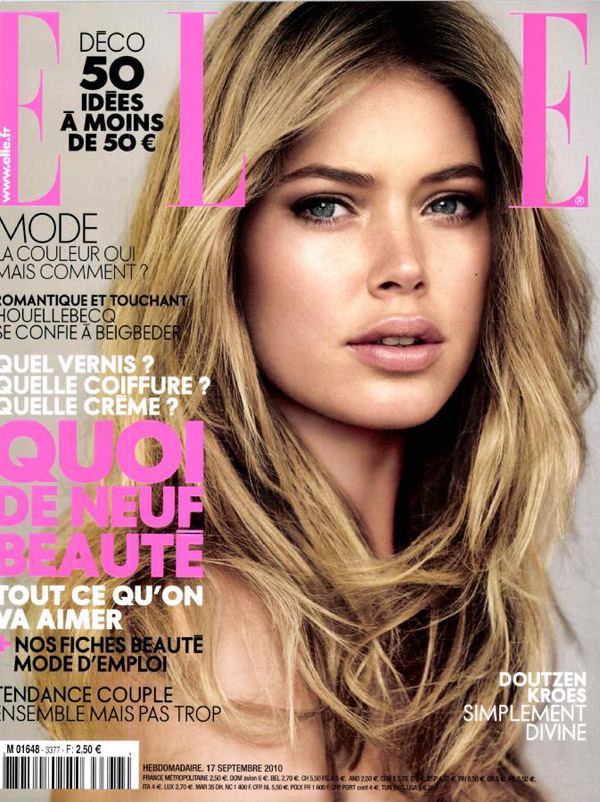 Elle France September 17, 2010 Cover | Doutzen Kroes by Alex Caley