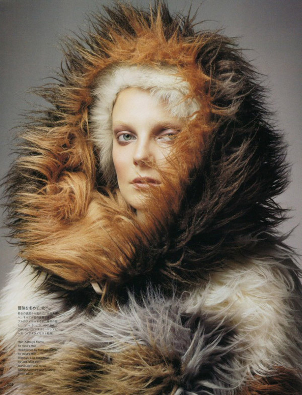 Eniko Mihalik by Raymond Meier for Vogue Nippon November 2010