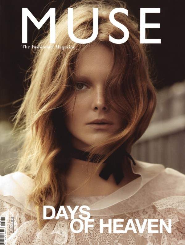 Muse Fall 2010 Cover | Eniko Mihalik by Will Davidson