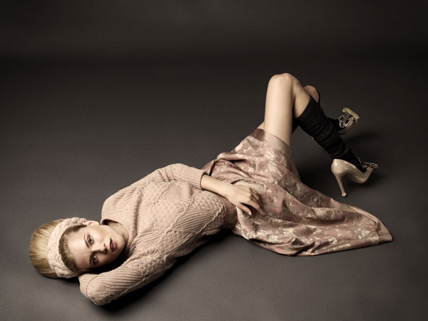 Kasia Struss by Krzysztof Wyzynski for Glamour Poland September 2010