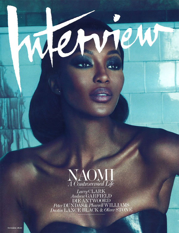 Interview October 2010 Cover | Naomi Campbell by Mert & Marcus