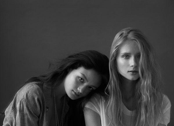 Jandra & Rachel by Stephen Ward for Russh #36