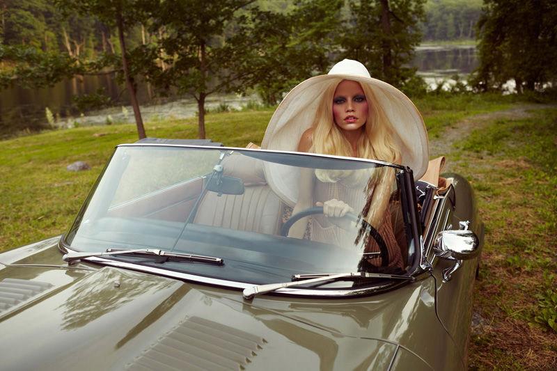 Aline Weber by Yelena Yemchuk for AnOther Magazine F/W 2011