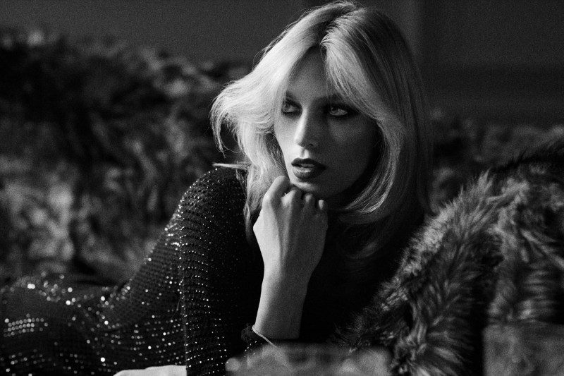 Anja Rubik by Ezra Petronio for Self Service F/W 2011