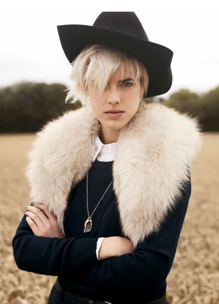 Agyness Deyn by Ben Weller for Twin #5
