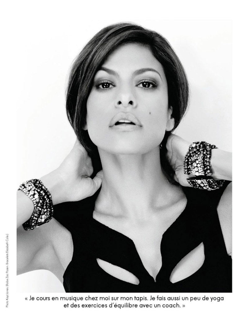 Eva Mendes by Kayt Jones for Elle France October 2011