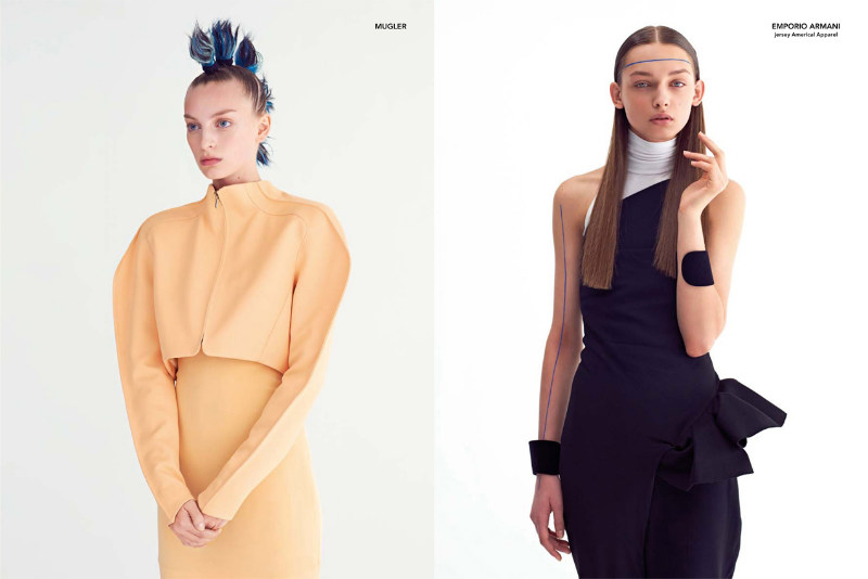 Rose Smith & Daga Ziober by Eric Guillemain for Metal #25
