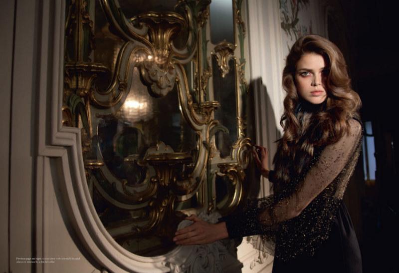 Julia Saner in Fendi by Camille Vivier for Grey #5