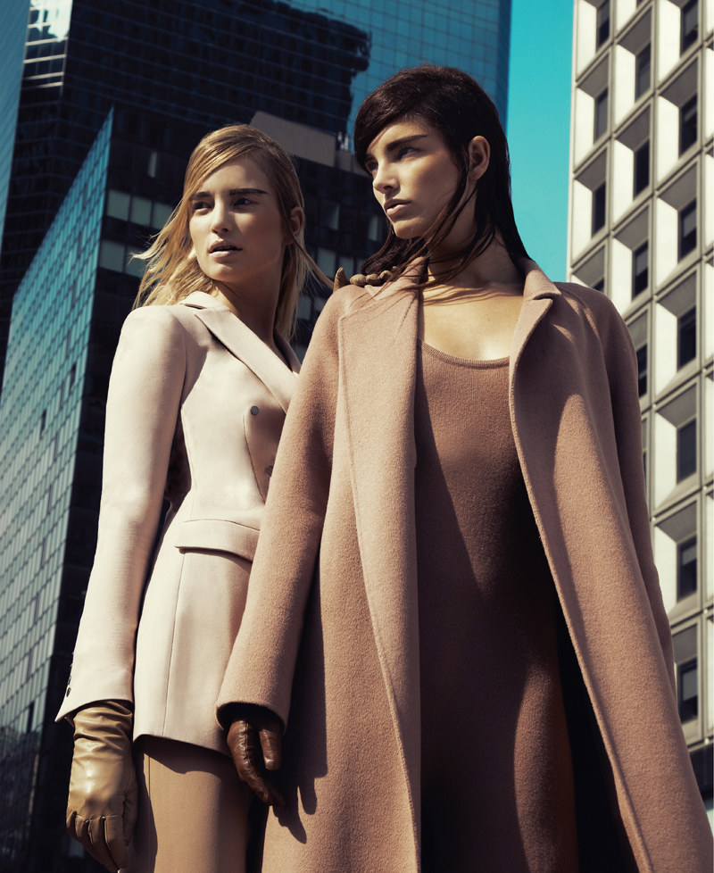 Maud Welzen & Ava Smith by Jason Kim for BlackBook October 2011