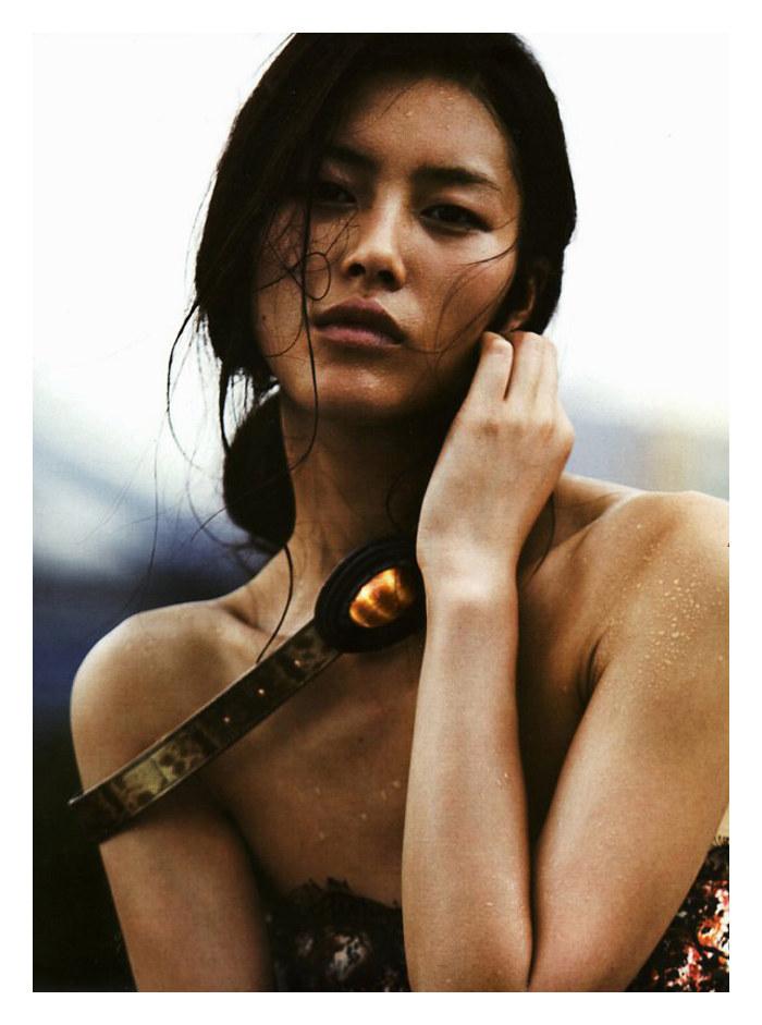 Liu Wen in Bottega Veneta by Will Davidson for V Magazine Spain #10