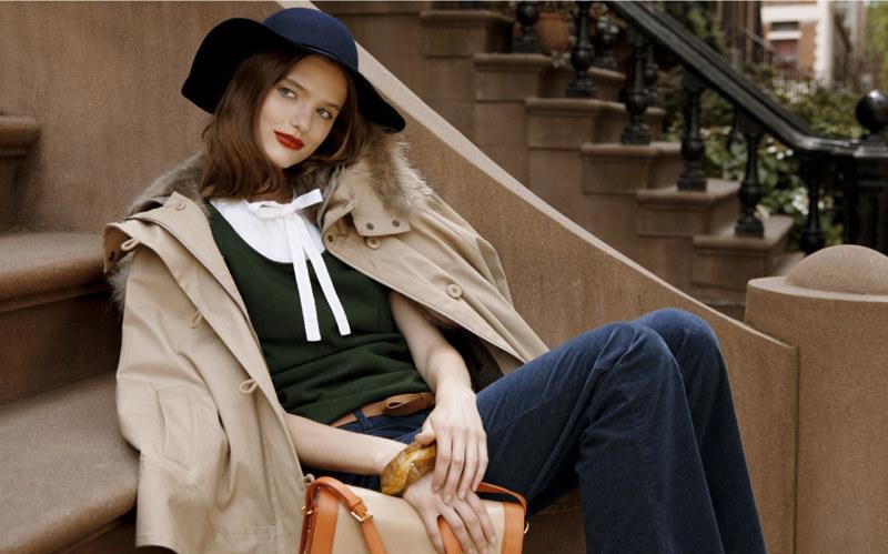 Jill by Jill Stuart Fall 2011 Campaign | Katie Fogarty by Skye Parrot
