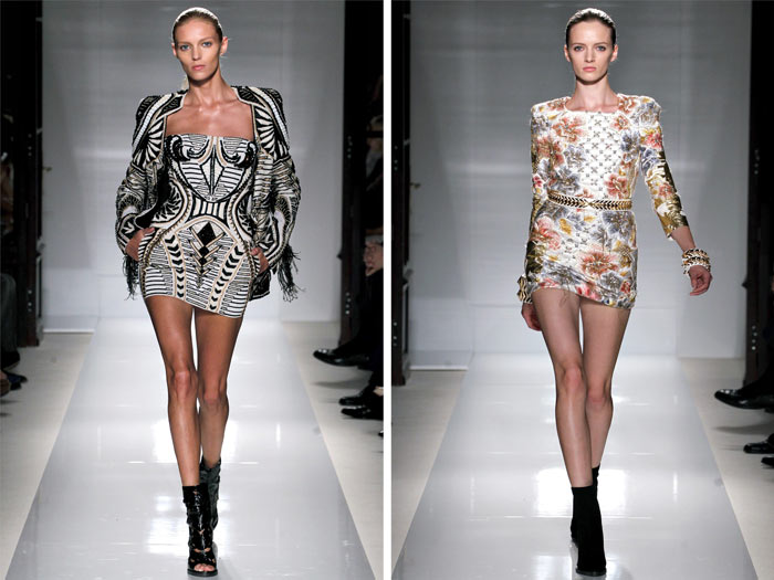 Balmain Spring 2012 | Paris Fashion Week
