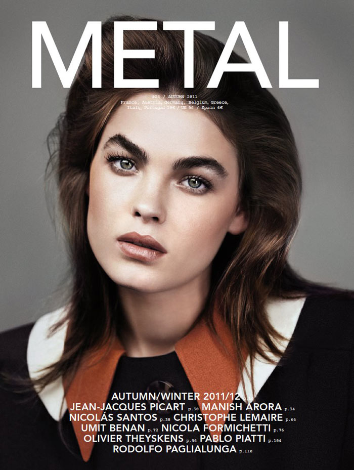Bambi Northwood-Blyth Covers Metal #25 in Miu Miu