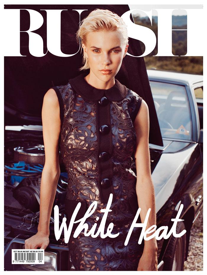 Russh #42 October/November 2011 Cover   Britt Maren by Hugh Lippe