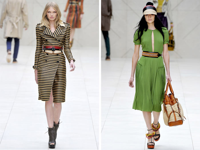 Burberry Spring 2012 | London Fashion Week