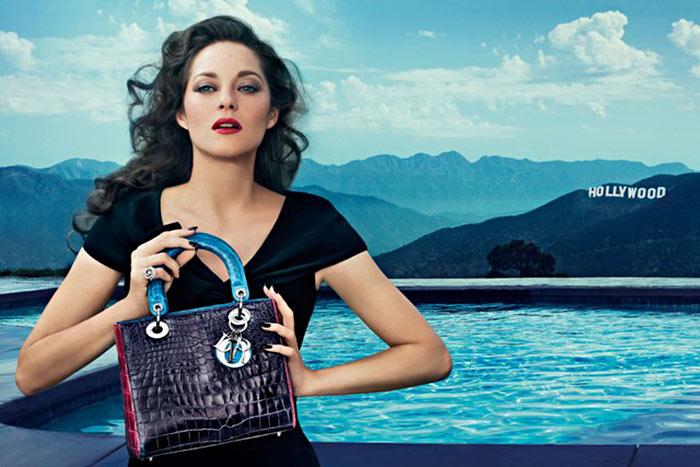 Marion Cotillard for Lady Dior Handbags Campaign by Steven Klein