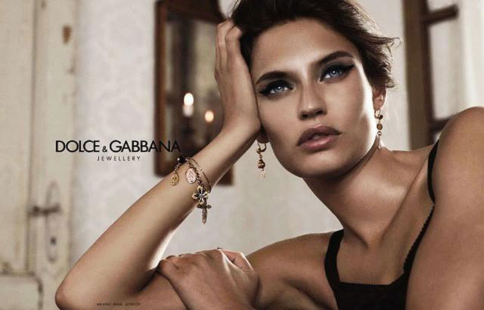 Bianca Balti for Dolce & Gabbana Jewelry Fall 2011 Campaign by Giampaolo Sgura