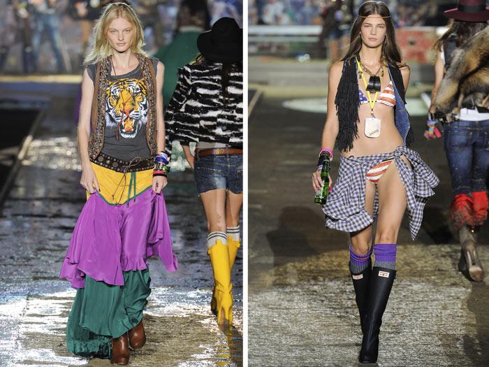 DSquared2 Spring 2012 | Milan Fashion Week