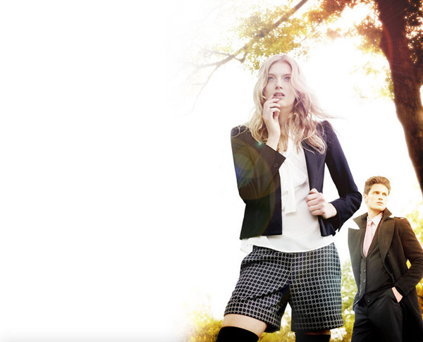 Lily Donaldson for G2000 Fall 2010 Campaign