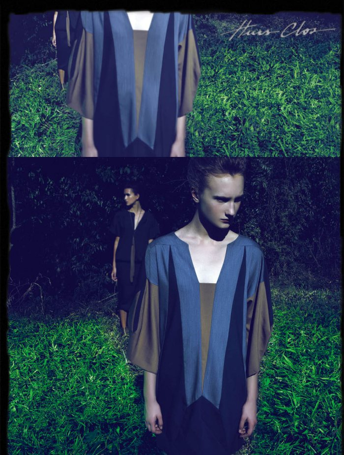 Huis Clos Spring 2012 Campaign | Alexia & Michelle Gassen by Renam Christofoletti