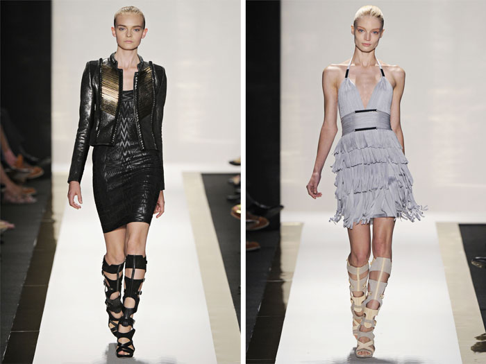 Herve Leger by Max Azria Spring 2012 | New York Fashion Week