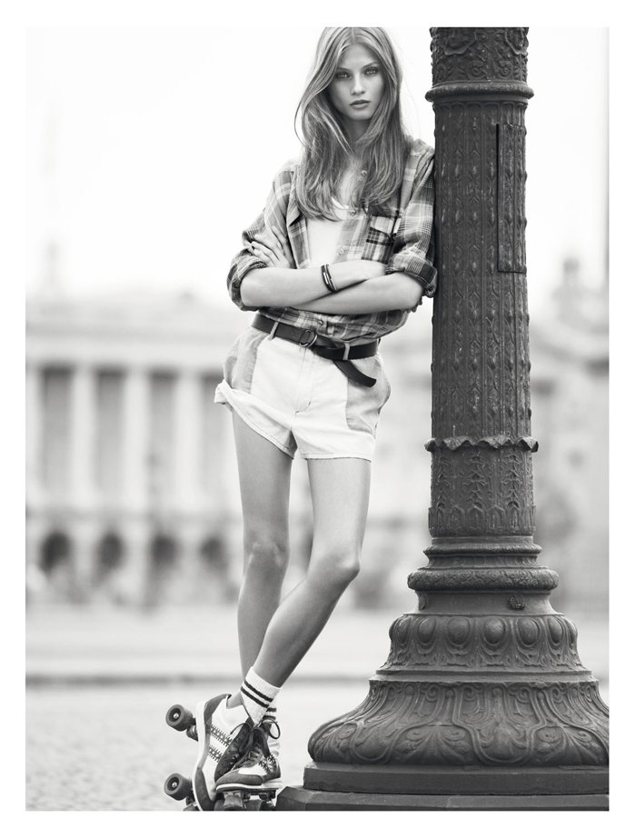 Anna Selezneva for Isabel Marant Etoile Spring 2012 Catalogue