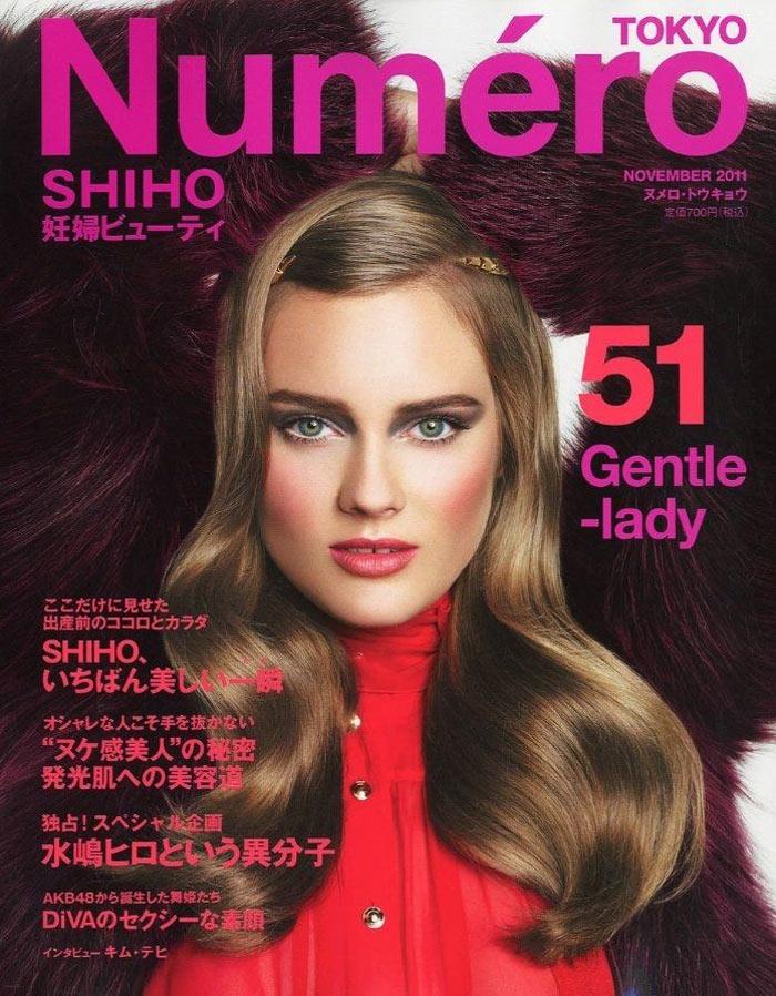 Numéro Tokyo #51 November 2011 Cover | Jac Jagaciak by Nino Muñoz