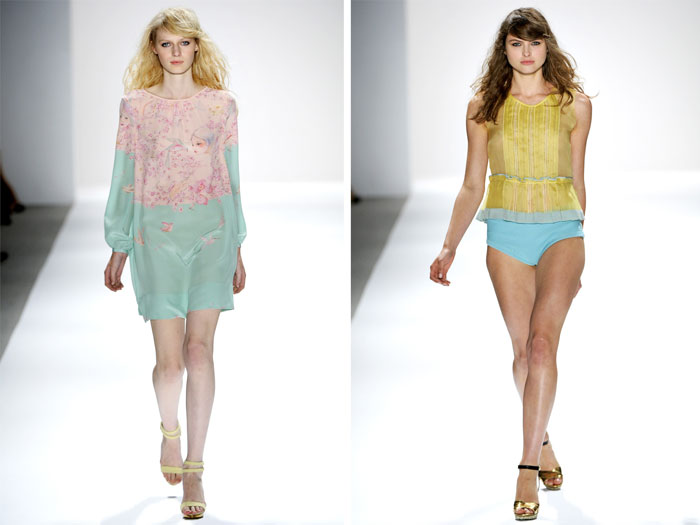 Jill Stuart Spring 2012  | New York Fashion Week