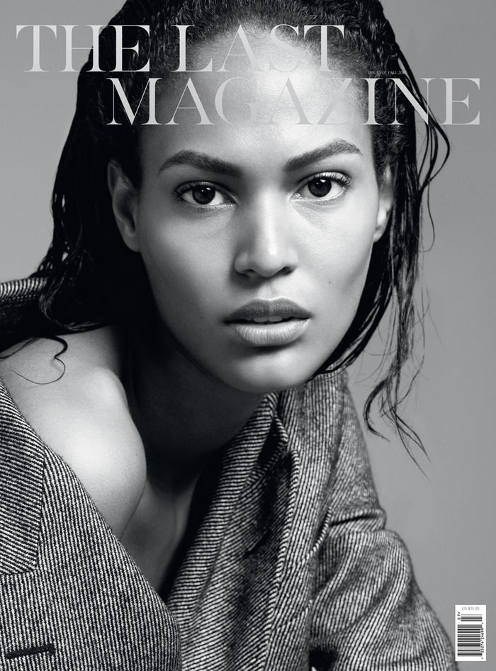 Joan Smalls Covers The Last Magazine F/W 2011 by Karim Sadli