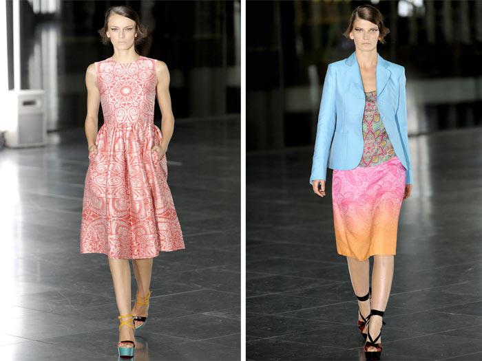 Jonathan Saunders Spring 2012 | London Fashion Week