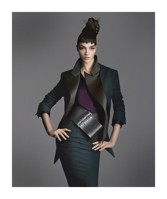 Mariacarla Boscono for Bergdorf Goodman Fall 2011 by Daniele Duella & Iango Henzi