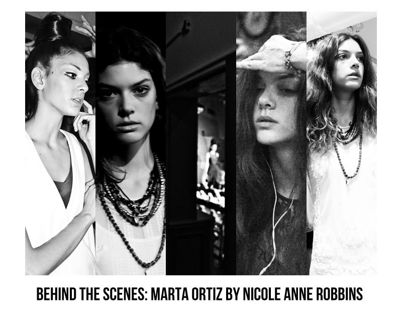 Marta Ortiz by Nicole Anne Robbins - Behind the Scenes