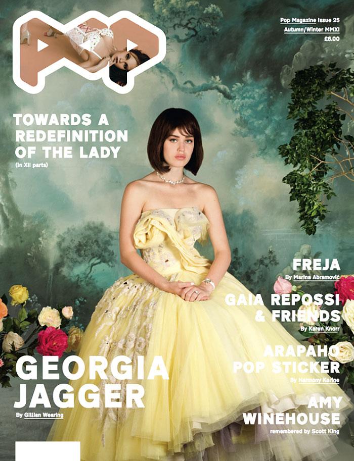 POP F/W 2011 Cover   Freja Beha Erichsen & Georgia May Jagger